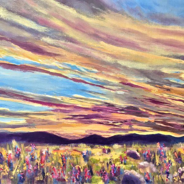 Froggatt_Marilyn_Sunset_in_the_Lupine