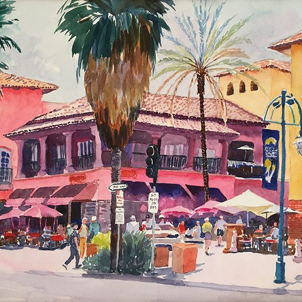 Moira Johannessen Colorful Palm Springs